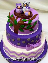 owl baby shower cake purple owl baby shower cake party xyz