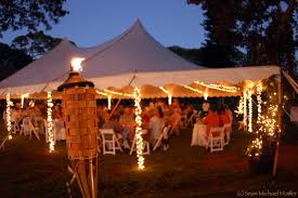 outdoor tent wedding lighting ideas for your outdoor wedding the wedding planners