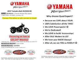 2017 yamaha bolt black street motorcycle clearance sale free