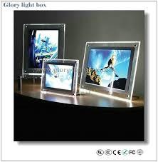 light boxes for sale sale crystal light box desktop led acrylic poster signs