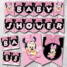baby minnie mouse baby shower baby minnie mouse baby shower banner baby minnie mouse