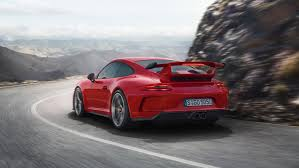 Porsche Cayenne 911 - a 911 for the road and track u2013 the new porsche 911 gt3