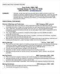 event coordinator resumes meeting planner resume event planner resumes planner resume event