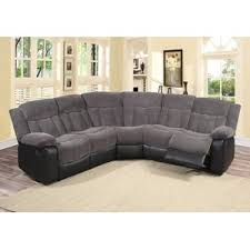 grey leather sectional wayfair