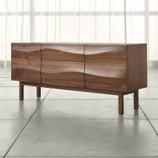 waved design drawer sideboard