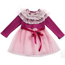 fashion trends cute kids party dress without sleeves matched with