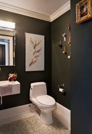 Powder Room Decor Modern Door Knobs Powder Room Transitional With Bath Bar Black