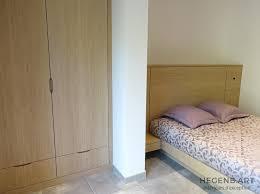 chambre à coucher sur mesure chambre à coucher moderne avec dressing et lit sur mesure en chêne
