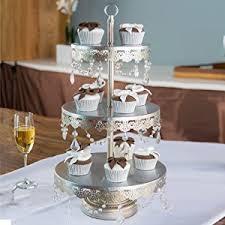 wedding cake tier stands antique silver 3 tier cupcake stand dessert