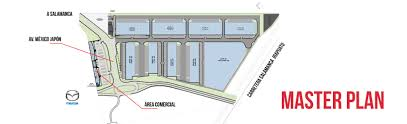 Industrial Floor Plan by Master Plan U2013 Bajio Industrial Park