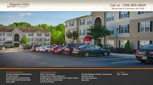andover park apartment homes greensboro nc youtube