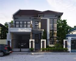 minimalist house design type 45 two storey artdreamshome