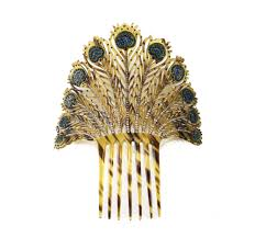 antique hair combs deco hair comb ebay