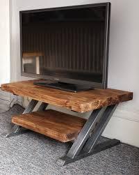 Z Oak Console Table Best 25 Industrial Tv Stand Ideas On Pinterest Industrial Tv