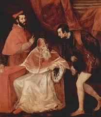 Paolo III Farnese con i nipoti - Tiziano - 1546