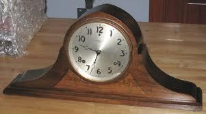 Mantle Clock Repair Gilbert Tambour Mantel Clock With Bim Bam Striking Clockinfo Com