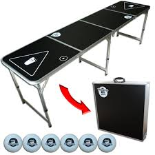 fold up beer pong table 8 foot portable beer pong table your source for party perfection