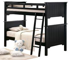 Black Wooden Bunk Beds 43 Black Beds Black Size Captains Bed Contemporary