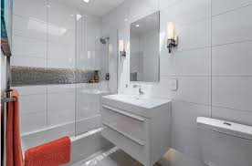 white tile bathroom design ideas small bathroom modern design ideas