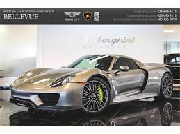 Porsche 918 List Price - 2015 porsche 918 spyder for sale classiccars com cc 959040