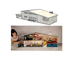 Free Miniature Dollhouse Plans Beginner by Doll House Etsy