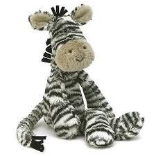 jellycat merryday zebra