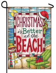 Alabama Yard Flag Coastal Christmas Is Better At The Beach Garden Flag I Americas