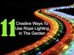 Outdoor Rope Lighting Ideas 58 Best Outdoor Lighting Ideas Images On Pinterest Lighting