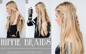 hairstyles for hippies of the 1960s all hair makeover amazing hippie braids you should definitely try