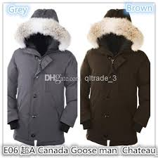 Chate by E06 Goose Man Chate Black Men Outwear Man Down Coats Sweden Norway