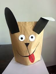 how to make a puppet lion with grocery recycled bag and lots of