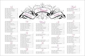 free wedding seating chart templates hitecauto us