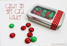 gift card tin candy tin gift card holder