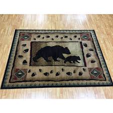Area Rugs For Cabins Handcraft Rugs Lodge Design Cabin Area Rug 5ftx7ft Lodge 367
