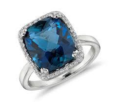 blue gemstones rings images Beauty of blue topaz bingefashion jpg