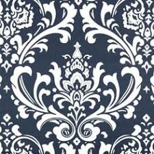 Damask Kitchen Curtains by Damask Curtain Panels Navy Blue And White Damask Curtains Drapery