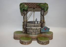 jim shore disney traditions wishing well display base snow white