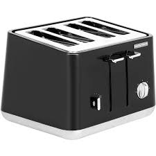 Morphy Richards Toaster Yellow Morphy Richards Aspect 240002 4 Slice Toaster Black