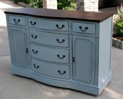 Painted Buffets And Sideboards i kind of like this blue gray distressed style for furniture