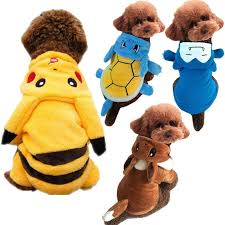 Snorlax Halloween Costume Pet Dog Cat Clothes Costume Pokemon Pikachu Snorlax Hooded