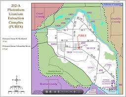 Richland Washington Map by Hanford Nuclear Site Tunnel Collapse Causes Workers To U0027take