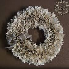 Christmas Decorations Christmas Wreath Old Book Pages by Christmas Wreath Out Of Old Book Pages I Kinda Cried A Little