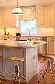 Fine Design Kitchens Cowhide Bar Stools Transitional Kitchen Lauren Haskett Fine
