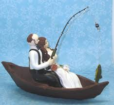 fishing wedding cake toppers fishing themed wedding cake toppers idea in 2017 wedding