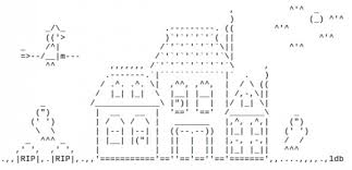 haunted houses in ascii text for haunted houses