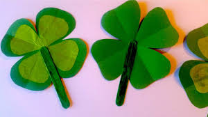 how to make a shamrock fan for st patrick u0027s day easy craft for