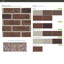 briarwood augusta collection residential brick boral behr