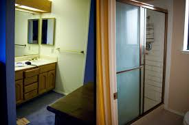 untitled document our homeowner had a shower with an adjoining water closet that just didn t work because it felt cramped the solution make one master bath out of the two