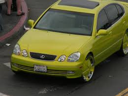 lexus is300 yellow post pics of your custom paint job on your gs300 clublexus