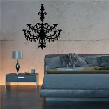 Chandelier Wall Decal Chandelier Wall Decals Vinyl Wall Decals